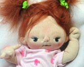 Jane a One of a Kind Soft Sculpture Baby Doll by BeBe Babies
