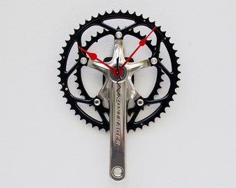 Recycled Bike Crank Arm Clock