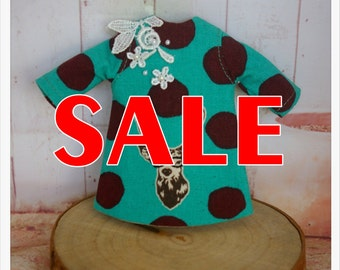 SALE~~LADYBIRD HOUSE Blythe Outfit Deer Dress - C