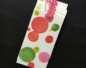 Watercolor Holiday Gift Tags - set of six