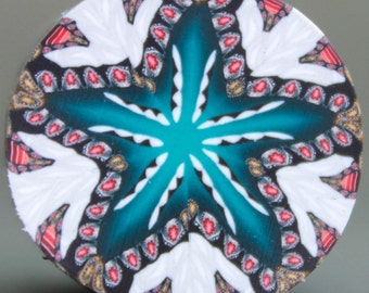 Kaleidoscope Polymer Clay Cane (18dd)