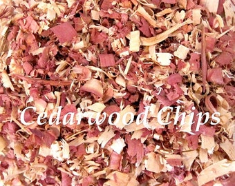 Cedar Wood Chips, Shavings - Moth, Insect Organic Repellent, Red Cedar USA-Grown, 100% Natural Untreated - 5 Cups