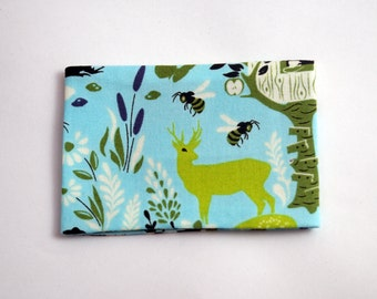 Oyster Card Holder Travel Pass Holder Deer Nature Camping