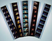 The Little Mermaid Bookmark Set - Recycled 35mm Film