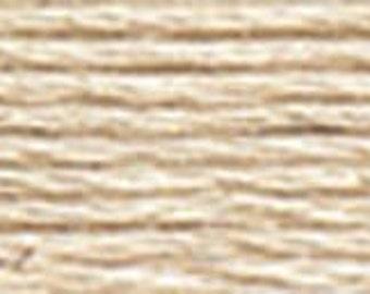 DMC Perle Cotton Thread Size 12 Light Beige Gray 822