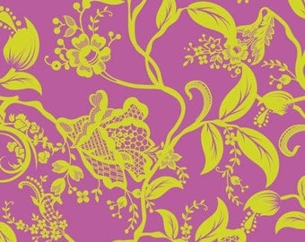 Pat Bravo Dreaming in French Berry Coquette - 1 yard
