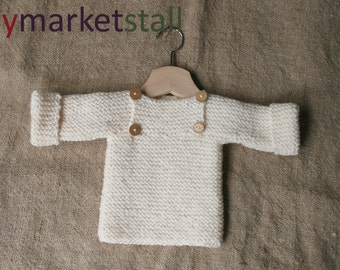 SALE! Baby Pullover Sweater - Sz 3-6 Months - Unisex - Ready to Ship