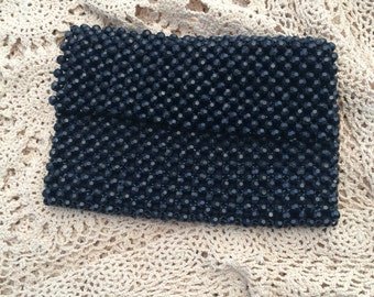 Vintage Evening Bag Purse Beaded Envelope Clutch Marcus Brothers