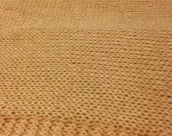 Light Pink Baby Alpaca/Silk Knit scarf/shawl/wrap