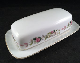 Vintage Creative Rose Butter Dish Butterdish