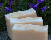 Jasmine Honey Cold Process Soap with Cruelty-Free Tussah Silk