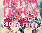 Jaime L custom listing