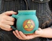 The Legend of Zelda Triforce Mug - Made to Order