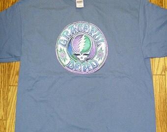 Grateful Dead Batik SYF short sleeve  Shirt  Sizes  L XL 2XL  3XL       Deadhead