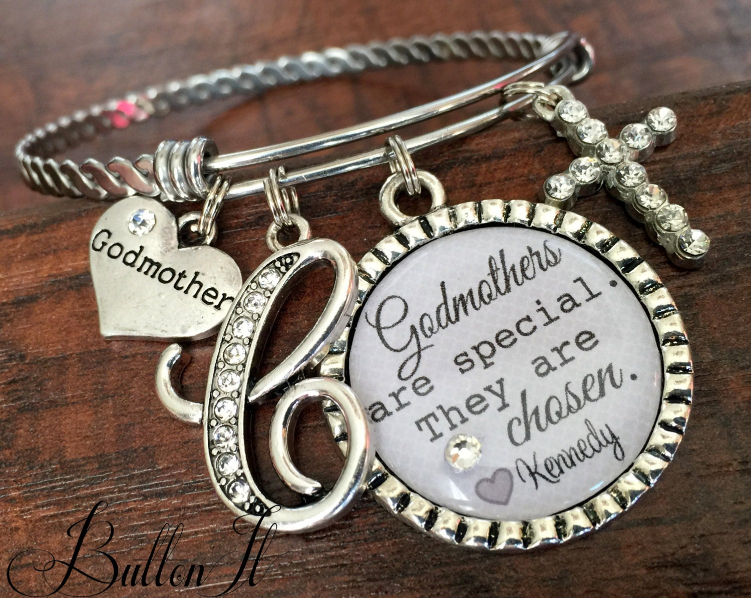 Gift For Godmother Godmother Gift Mothers Day Gift: GODMOTHER Gift Godmother Bracelet Personalized Jewelry