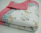 Fawn Minky Comforter Blanket MADE TO ORDER