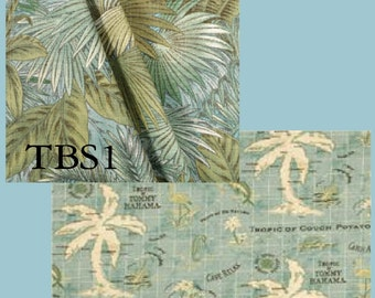 Tommy Bahama Custom Outdoor Drapes - You pick the style and fabric