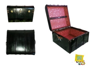 S. Black Wizard's Book and DVD Trunk