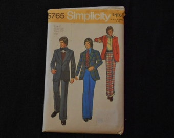Pattern/Mens Suits/1973/Simplicity/5765
