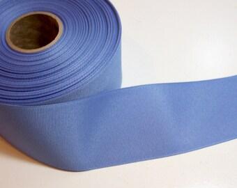 Blue Ribbon, Offray True Blue Grosgrain Ribbon 2 1/4 inches wide x 10 Yards, Delft Blue