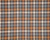Homespun Fabric | Check Fabric | Cotton Fabric | Primitive Fabric | Rag Quilt Fabric | Home Decor Fabric | 1 Yard