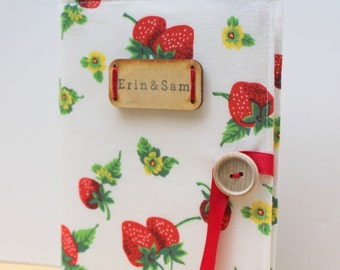 Mother's Day gift strawberry personalized photo album brag book