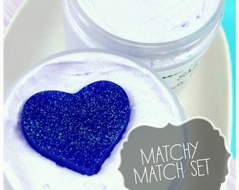 Gifts for Mom. Mom Gift. Mothers Day Gifts. MATCHY MATCH Gift Set. Smooches Body Butter + Whipped Sugar Scrub. Mothers Day Gift for Mom