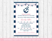 Cute Nautical Baby Shower...