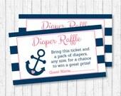 Cute Nautical Diaper Raff...