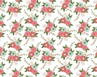 20% OFF Wonderland Floral White - 1/2 Yard