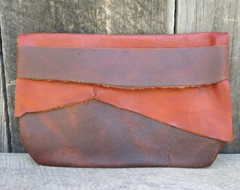 Woodland Rustic Light Traveler Eco Leather Clutch