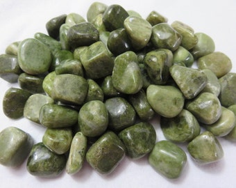 2 Vezuvianite Healing Crystal Reiki Energy Chakra Meditation Healing Stone aka Idocrase lot a