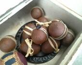 Primitive Rustic Eggs.  Set of six assorted bowl fillers Rustic Home decoration