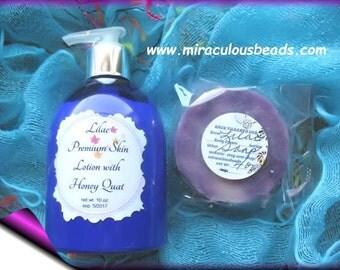 Premium Lotion & Handmade Soap Lilac