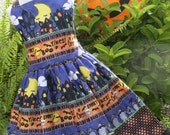 ON SALE Ready To Ship Custom Boutique RTS Halloween Jumper Dress Girl 4 5 6