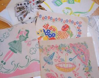 lovely vintage paper napkins