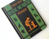 Vintage 1936 ElsonGray Basic Reader Primer Hard Cover Child's School Book, Primer,  Illustrations & Lessons, Stories, Vintage  Child's Book
