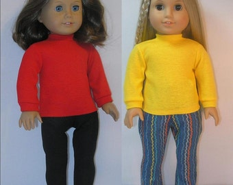 100LT5 Turtleneck for 18 Inch Doll