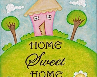 Home Sweet Home Painting