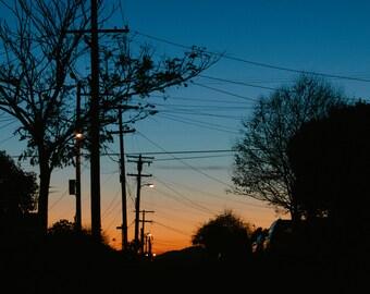 El Cerrito Sunset - 5x7 Photograph Print