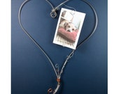 Pet Frame | Stainless Steel Wire Heart Frame  | Dog Lover Gift | Cat Lover Gift | Best Friend | Sculpture