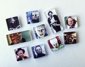 Horror Movie Bad Guys Magnet Super Set