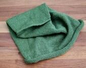 Sage Green Bad Hair Day Beanie - Slouchy Hat - Womens Knit Cap
