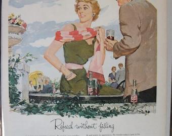 210 Pepsi Cola  Ad  - 1954