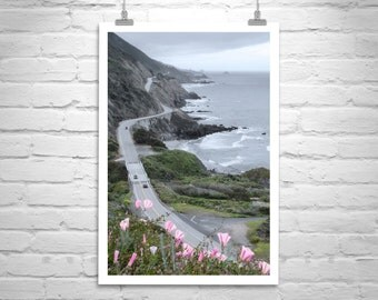 Pacific Coast Highway, Big Sur Photo, California Road Trip, Coastal Art, Fine Art Print, Ocean Art, California Coast, Travel Photography