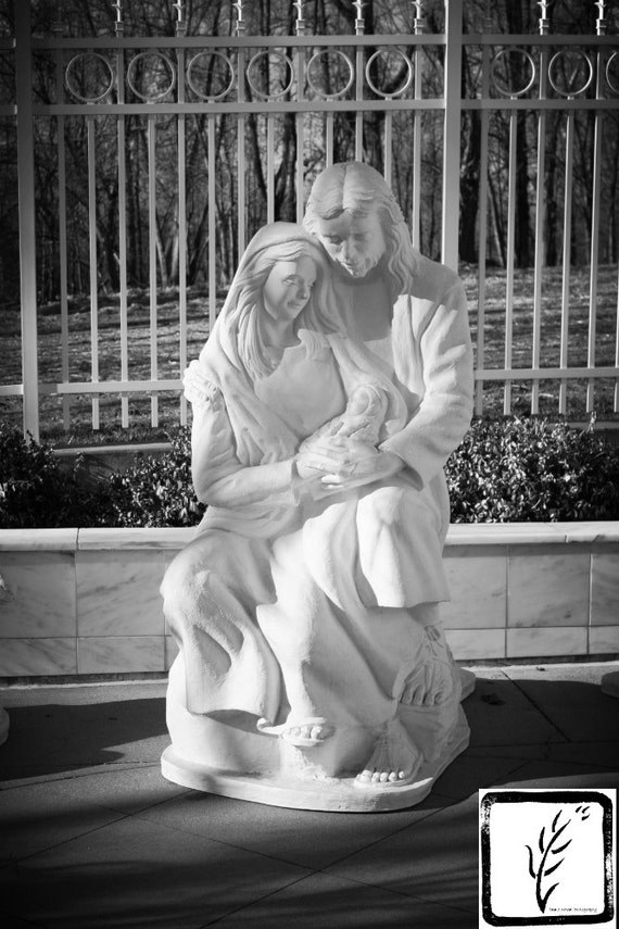 """Nativity,"" Louisville LDS Temple, Crestwood, Kentucky, 2013"