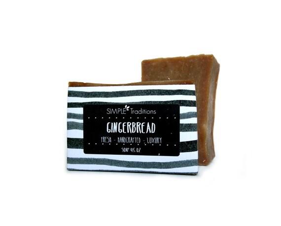 Gingerbread Soap Bar (Vegan) Limited Edition