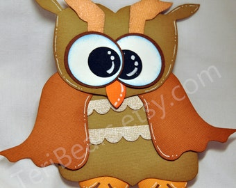 Owl paper piecing pattern, PDF Pattern, Digital Dowload