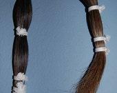 "Horse Hair, 1/2 pound bundle, mixed color, 27""-29"""