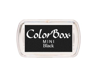 ColorBox Mini Sized Ink Pad Black